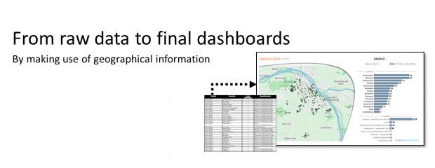 From raw data to final dashboards