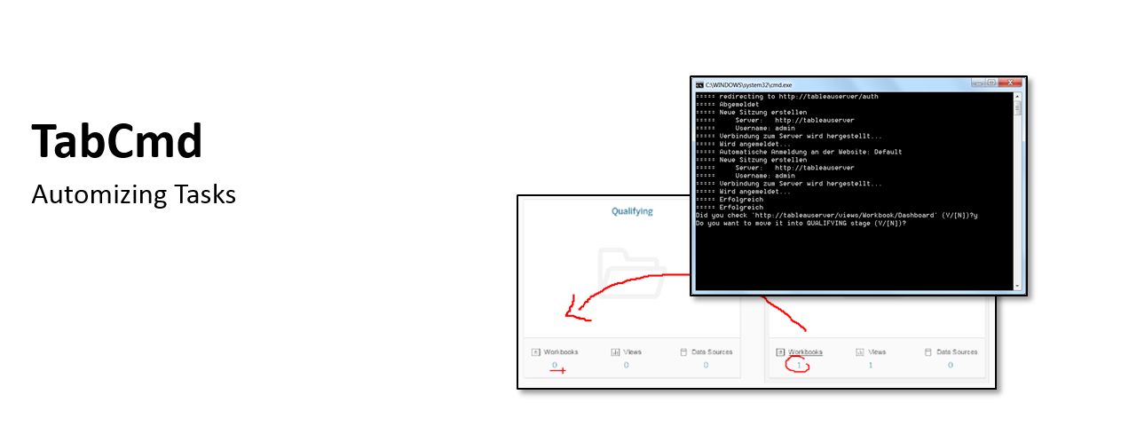 tableaufans com » TabCmd – Automating Tasks